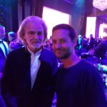 DR. BÜHLBECKER AND FILM ACTOR TOBEY MAGUIRE ALREADY KNOW EACH OTHER FROM THE LAST LEONARDO DICAPRIO FOUNDATION GALA.