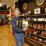 ACTOR JOHN SAVAGE WAS IMPRESSED BY THE LARGE SELECTION OF OUR CRISPY SWEETS.
